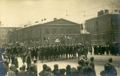 First Oath of the New Polish Army, Warsaw, 13 December 1918 (IPL)